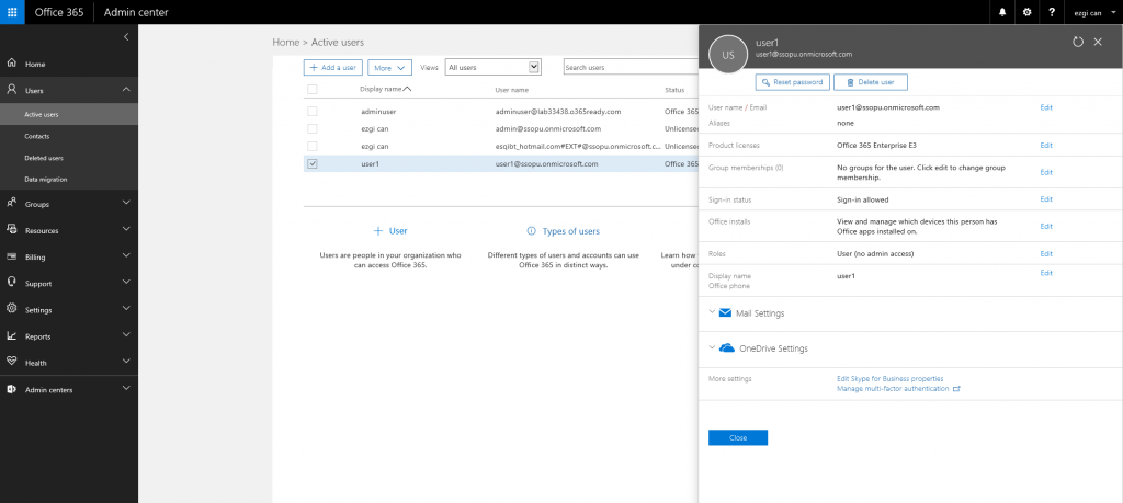 Office 365 Admin Center-2