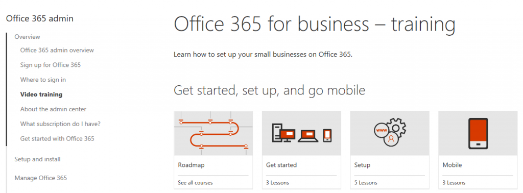 Office 365 Training - 1