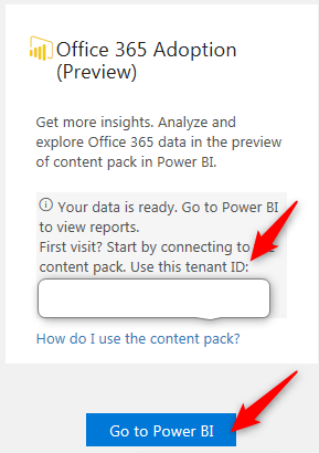 Power BI Adoption Content Pack - 3