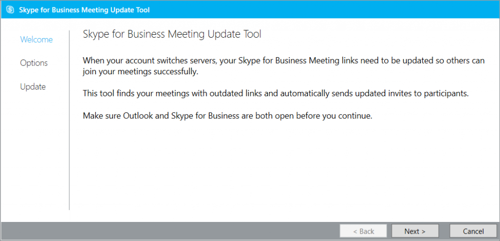 Skype for Business Online, Meeting Migration Tool_1