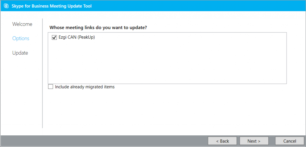 Skype for Business Online, Meeting Migration Tool_2
